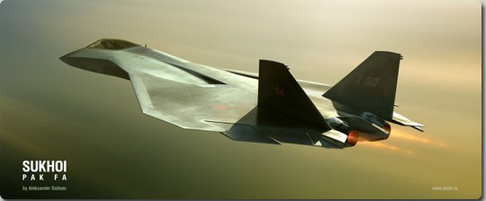 B! military] ロシアの第5世代ジェット戦闘機「PAK FA」の完成予想図 ...