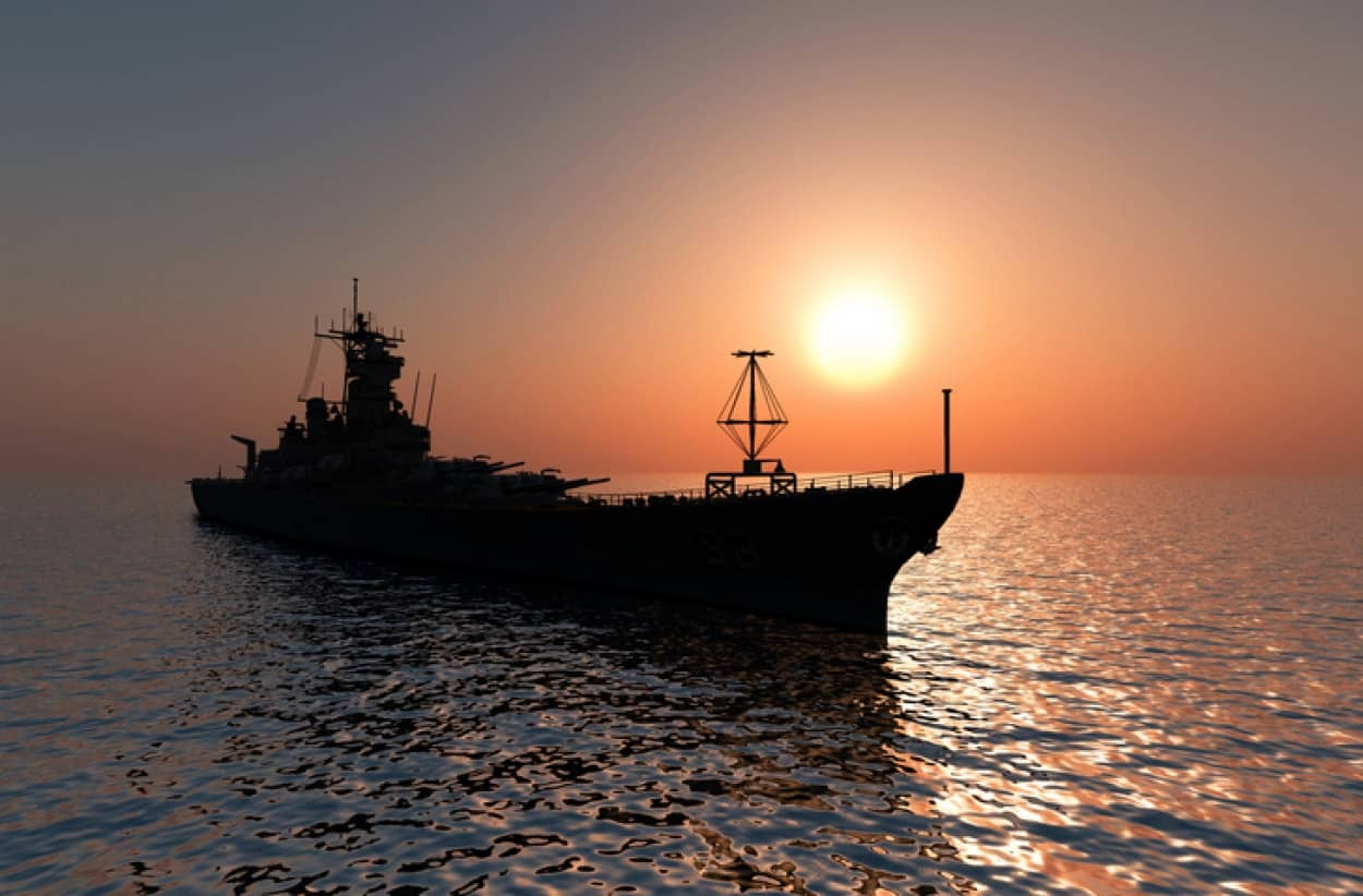 無人の幽霊船がメキシコ湾で目撃される。その正体は