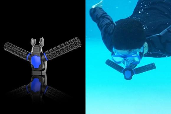 人間が魚気分を味わえる!水中で呼吸ができる人工エラ「トリトン」が爆発的支持を得て開発決定 ※追記あり