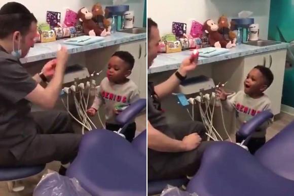 こんな歯医者さんなら子どもも怖くない!子どもの緊張をほぐすため手品を学び、それで和ます歯科医(アメリカ)