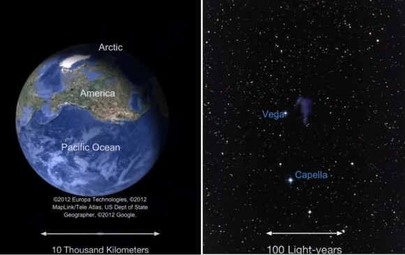 「私の悩みなんて宇宙の大きさに比べればちっぽけなものだ」じゃあ実感してみよう。宇宙の大きさがわかるズームアウト動画