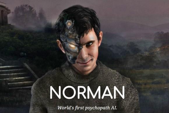 AI(人工知能)をサイコパス化。MITが作り上げた恐怖のサイコパスAIは、その名も「ノーマン」(米研究)