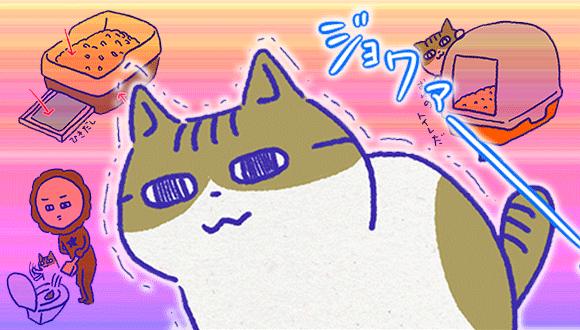 アレな生態系日常漫画「いぶかればいぶかろう」第29回:猫のトイレ事情(トイレ本体・猫砂編)