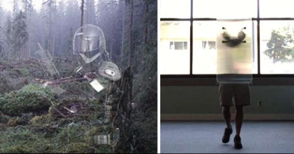 透明マントが現実味を帯びてきた。新たなる光学迷彩技術で簡単に身を隠すことができる素材が開発される(カナダ)