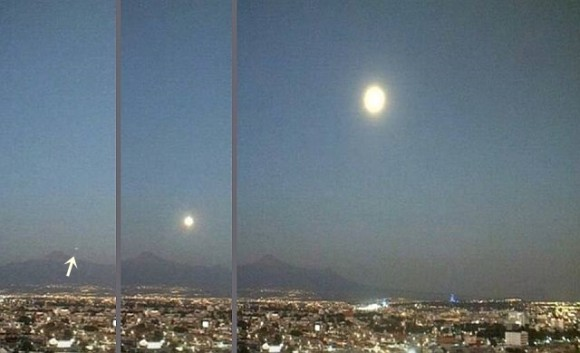 なんじゃこれミステリー。突如巨大化した火山上空のUFO(メキシコ)