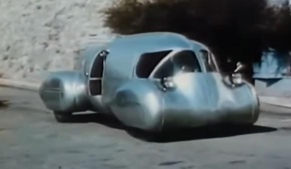 1948年に開発された「未来の車」が未来を突き抜けていた