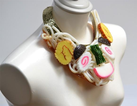 カレー、オムライス、ハヤシライス。日本の食品サンプル技術がアクセサリーとなって運命を共にできる
