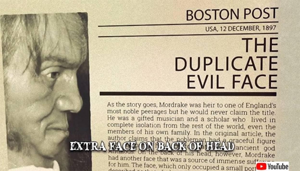 2つの顔を持つ男、エドワード・モードレイクの都市伝説