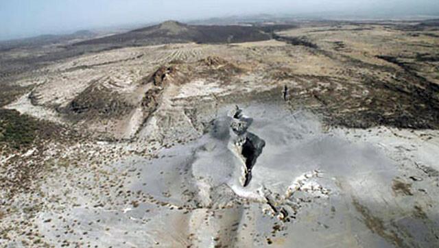 アフリカ大陸の亀裂が進行。大陸は2つに切り裂かれ海が誕生する(エチオピア)