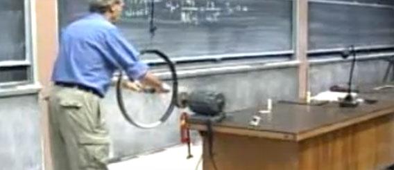 オランダの物理学者によるわかりやすい「ジャイロ効果」の説明
