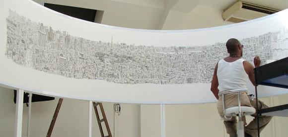 Stephen_Wiltshire_draws_Tokyo_Panorama_e