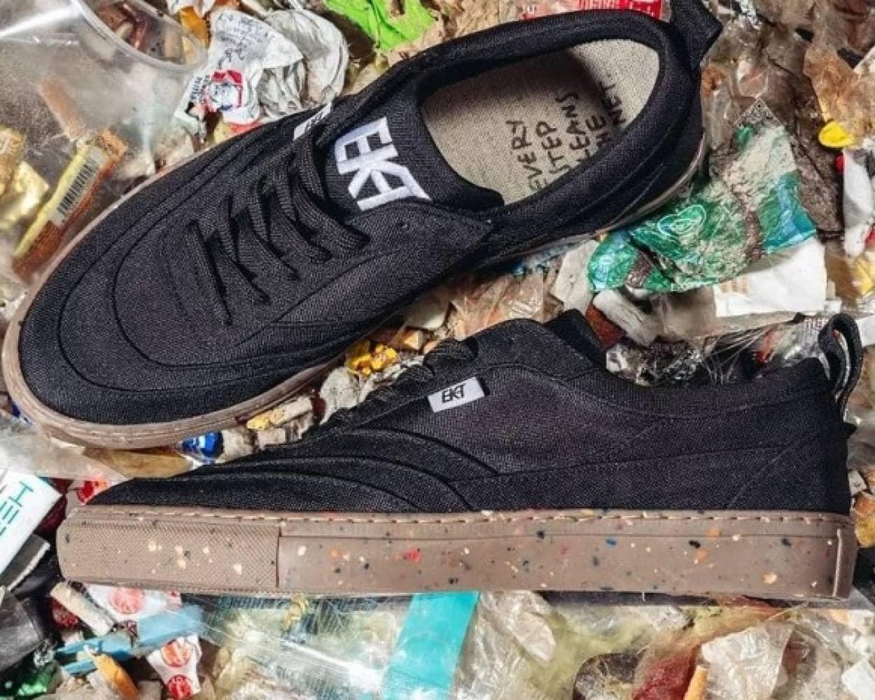 90%以上が廃棄物でできたスニーカーが誕生