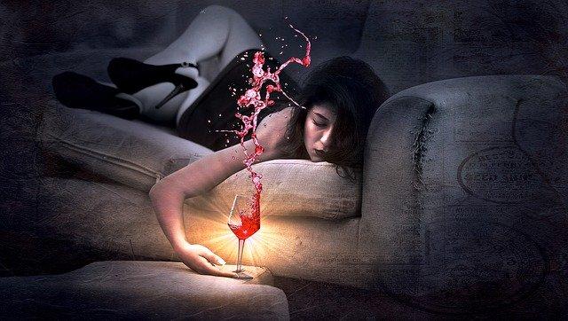 アルコールによる睡眠の質の低下