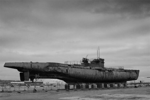 今なお保存、展示されている第二次世界大戦の負の遺物、ドイツの潜水艦「U-534」