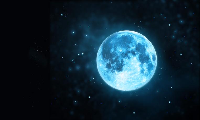 10月31日にブルームーン、二度目の満月がやってくる