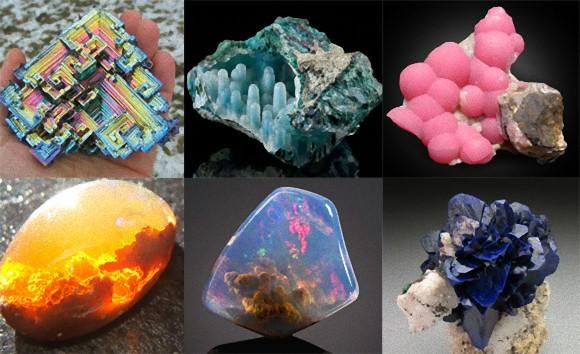鉱物マニアの為の魅惑のキュートな25の鉱物・鉱石