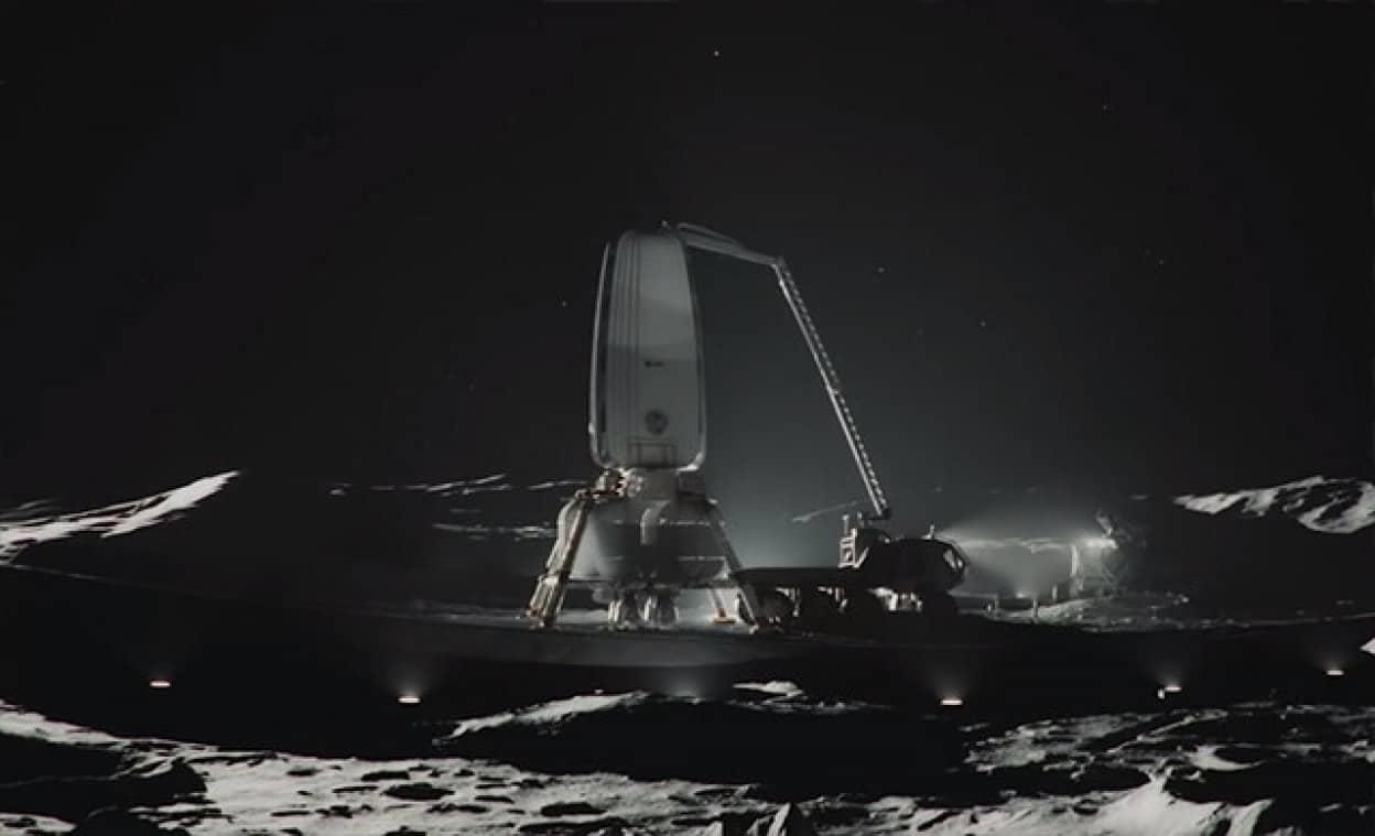 月でのリアリティーある居住生活を体感できるショートフィルム