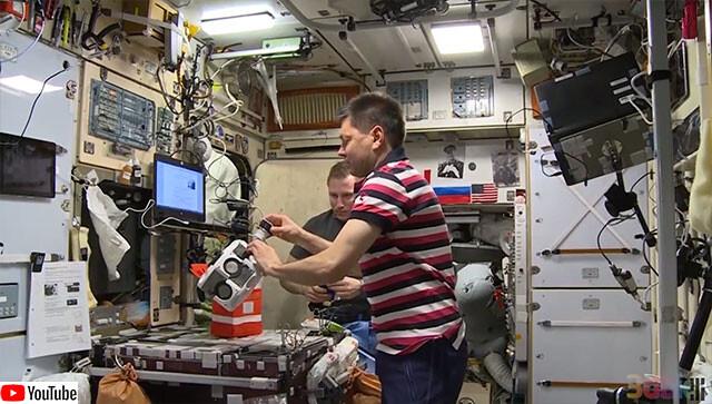 国際宇宙ステーションで軟骨の成型