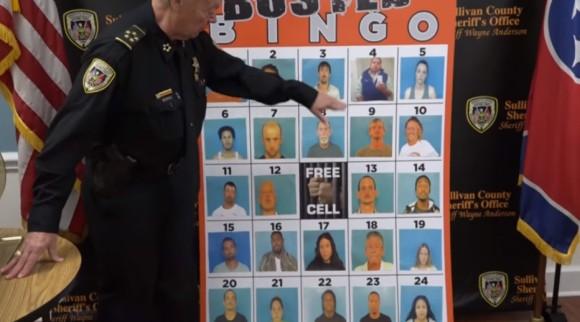 指名手配犯を捕まえるため、毎週「通報ビンゴ」ゲームを開催するアメリカの警察。実際に効果が出ている件