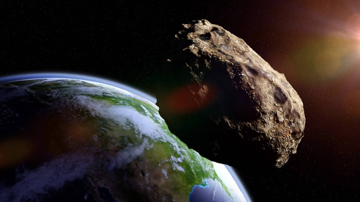 小惑星が地球に大接近