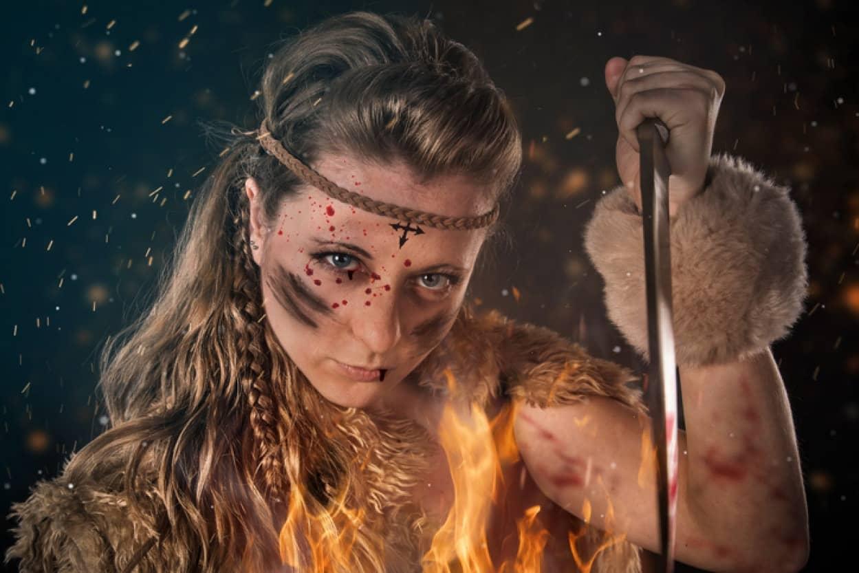 スキタイの女戦士
