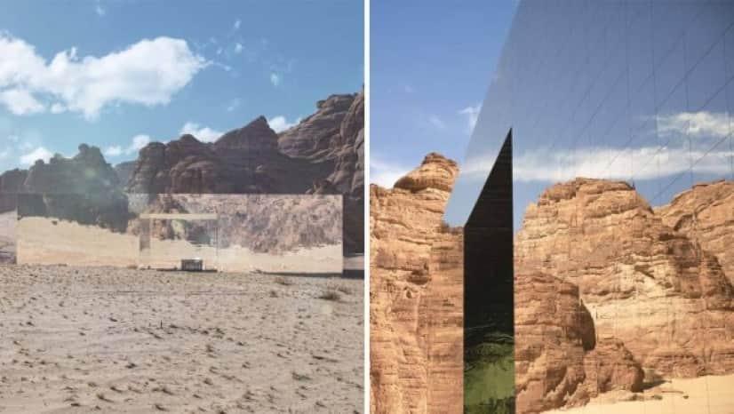 蜃気楼のような砂漠の中のコンサートホールがすごい!
