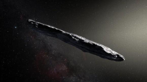 あの葉巻型の恒星間天体に宇宙人の探査機疑惑。専門家が調査を開始。