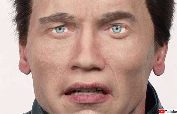 あなたが望む人物とそっくりの顔を持つロボットを作ってくれるロシアの企業。豊かな表情を作り出すことも可能