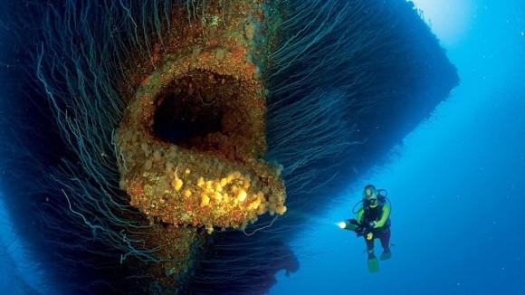 海に潜む巨大な亡霊!?核実験で沈められた航空母艦サラトガが超ド級のラスボスに!(ビキニ環礁)