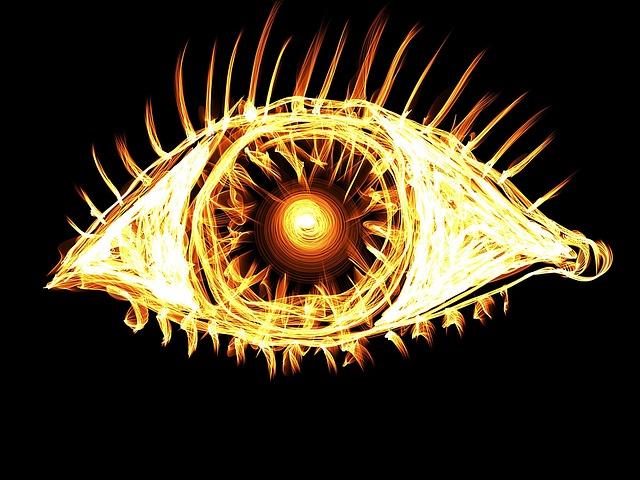 目からビームはあながち間違っていない?人は視線に物理的な作用があると認識している可能性