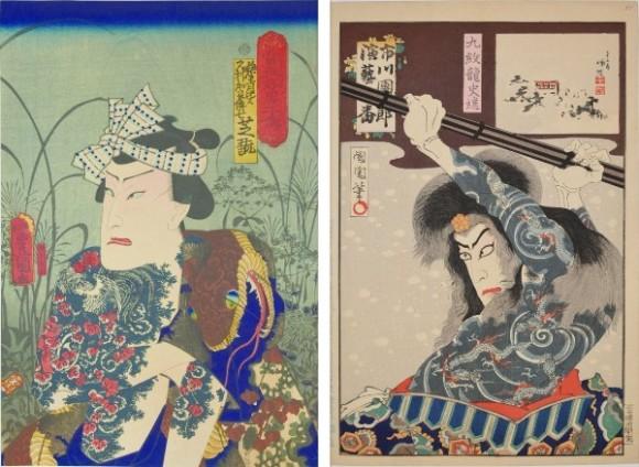 江戸時代に栄えた日本の伝統文化。浮世絵に描かれた鮮やかな刺青の数々