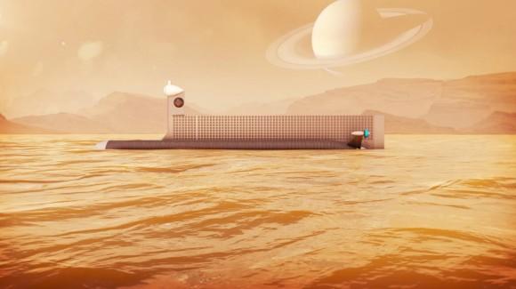 土星の衛星「タイタン」に存在する炭化水素の海を探索するため、NASAがロボット潜水艦を開発中