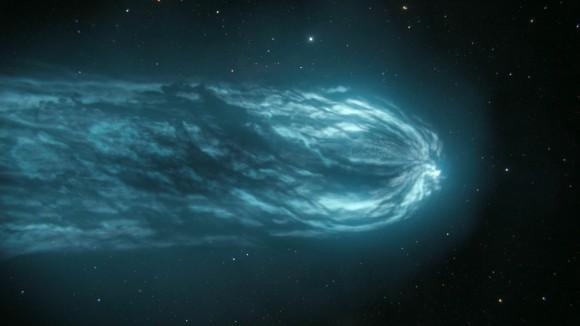 約2600年前にハレー彗星がもたらしたデブリ帯に地球が突入すると専門家