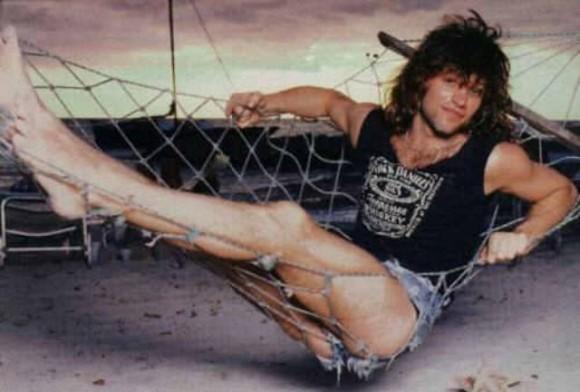 1980年代のボン・ジョヴィの短パン姿を堪能しようの会