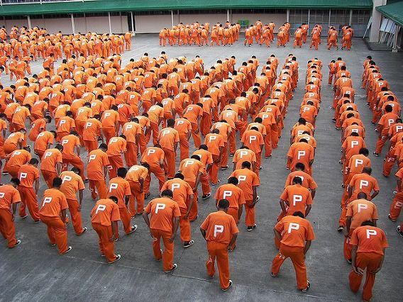 Philippine Prison Prisoners Dance Dancing 1