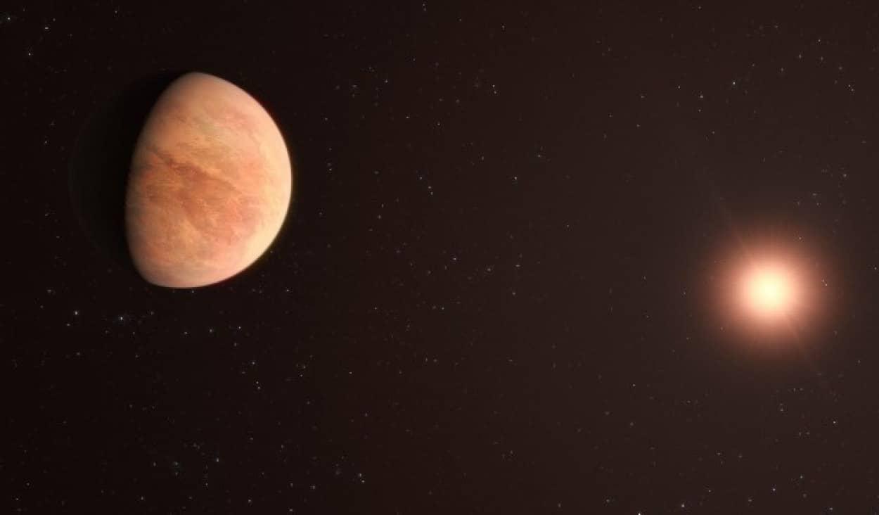 居住可能なスーパーアース「赤い矮星L98-59」