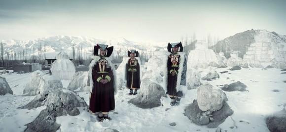 ラダック族(インド)の民族衣装