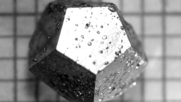 ロシアに落ちた隕石から宇宙由来の激レアな準結晶が発見される(イタリア研究)