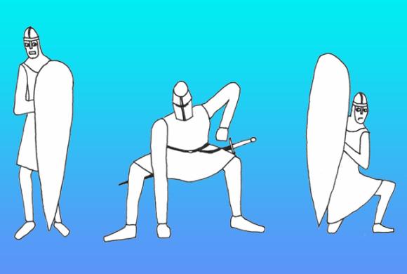 中世の騎士も結果にコミットしたかった。14世紀の騎士たちが行っていた10の肉体トレーニング法