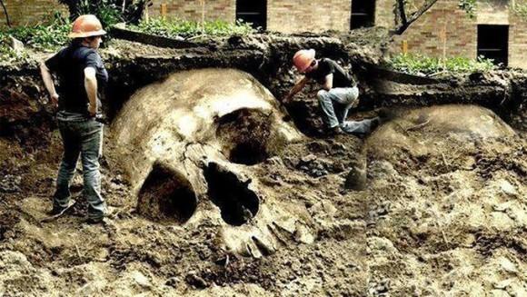 バチカンが巨人の存在を隠蔽しているという陰謀論が証拠画像付きで発信されるも、瞬時にコラだと見破られる