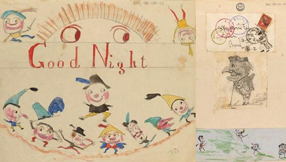 ダーウィンは子煩悩パパだった。チャールズ・ダーウィン直筆の原稿の裏は、子どもたちの落書きで満たされていた