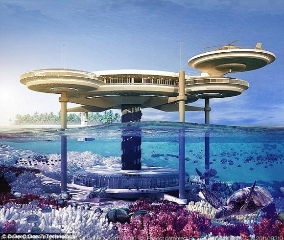 2050年までに水中ホテルに宇宙飛...