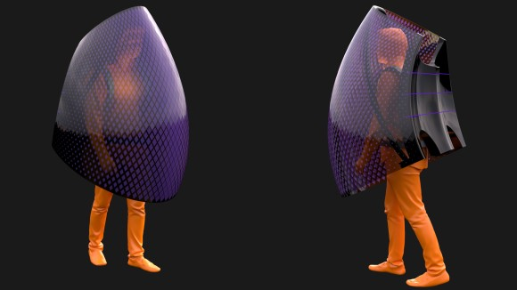 紫外線の熱で感染を防ぐ。新型コロナウイルスを撃退するボディシールドが設計される(中国)