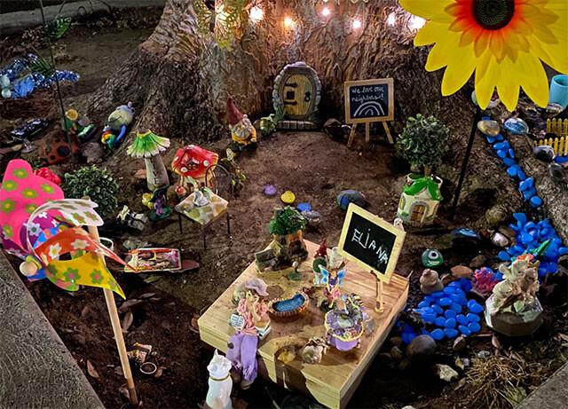 コロナ自粛中に少女が作った「妖精の庭」が妖精を運んできてくれた!孤独な心を埋めていく友情物語(アメリカ)