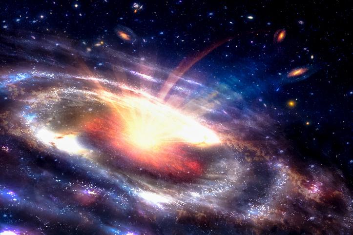 ブラックホールと銀河の音をNASAが作成