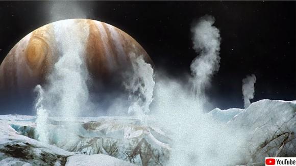 ワクワク地球外生命体、木星の衛星エウロパで水蒸気噴出を確認、液体の水の存在が明らかに(NASA)