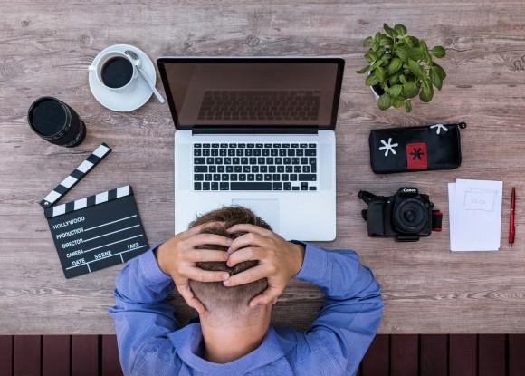 在宅勤務のストレス