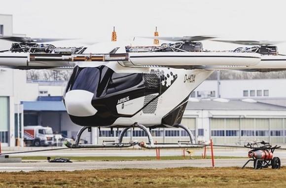 ドイツで空飛ぶタクシーが初の公共飛行