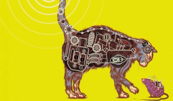 かつてCIAはネコに装置をつけスパイ活動に利用しようとしていた。失敗しちゃったけど・・・「アコースティック・キティー」計画