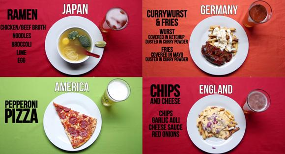 お酒を飲んだ後食べたくなる料理は?世界13か国別シメの1品。日本はやはり・・・